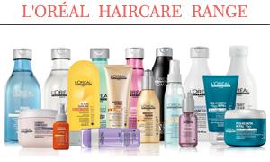 L'Oréal haircare range