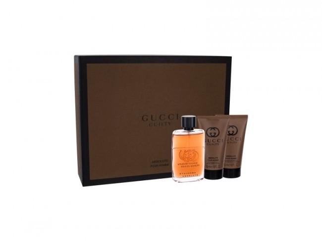Gucci Guilty Absolute Pour Homme Eau De Parfum 50ml Gift Set