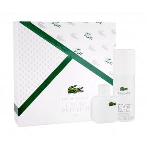 Lacoste Eau De Lacoste L.12.12 Blanc Eau de Toilette 50ml Gift Set
