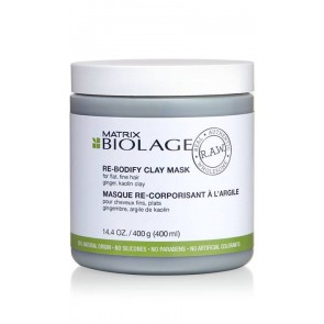 Matrix Biolage R.A.W. Re-Bodify Clay Mask 400ml