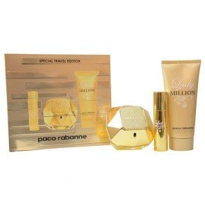 Paco Rabanne Lady Million Eau de Parfum 80ml Travel Gift Set