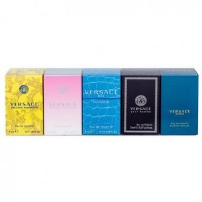 Versace Miniatures Collection Gift Set 5x5ml